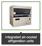 Integrated air-cooled refrigeration units (Outdoor)