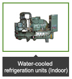 Water-cooled refrigeration units (Indoor)