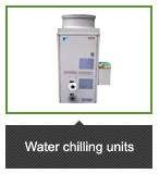 Water chilling units
